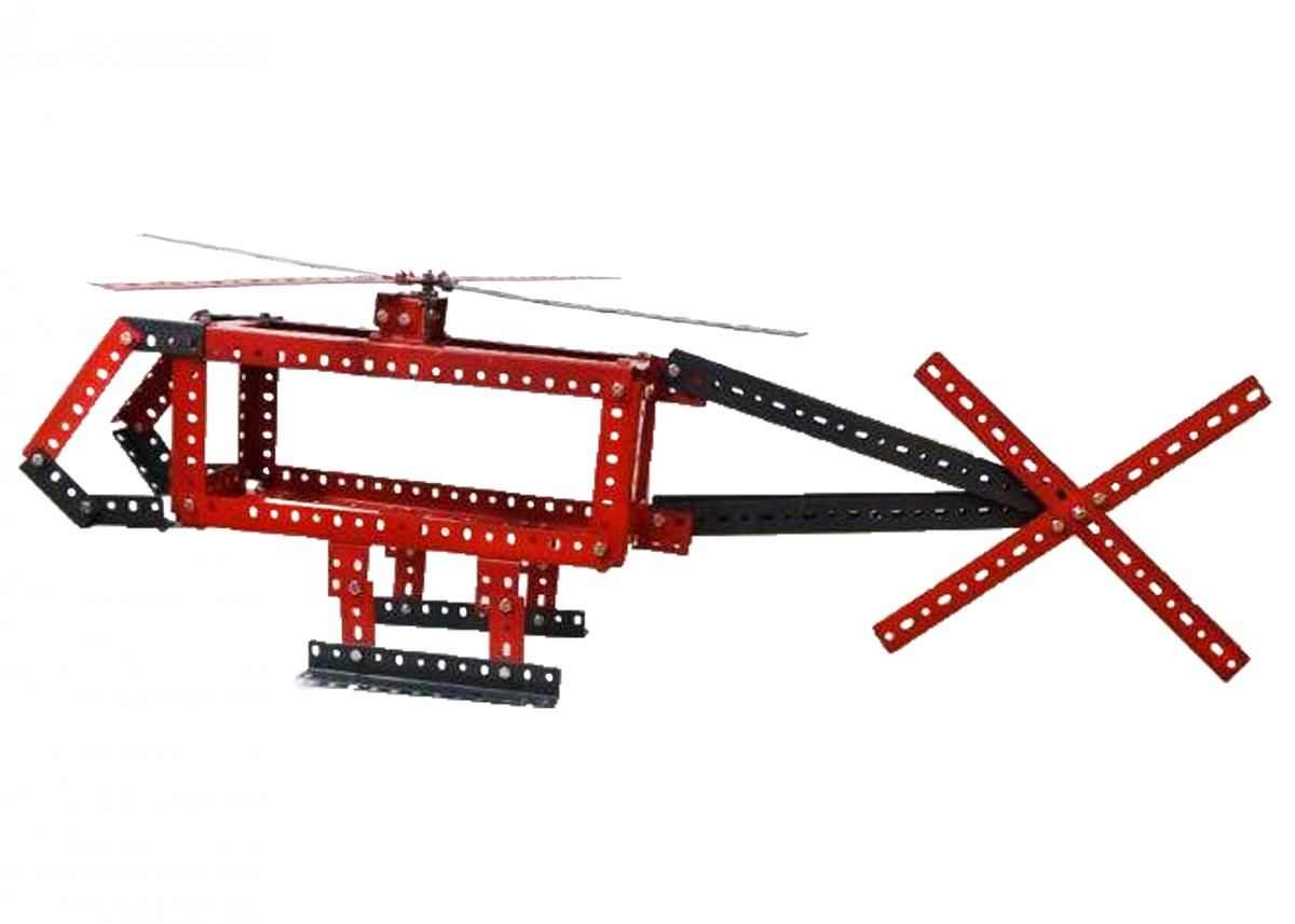 Metallbausatz Hubschrauber